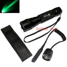 UltraFire 501B CREE Green light LED 1Mode Flashlight + Pressure Switch Holster