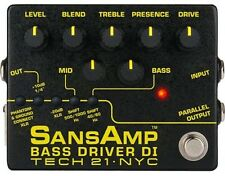 NEW! Tech 21 Sansamp Bass Driver DI Version 2 pedal