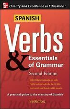 Spanish Verbs and Essentials of Grammar by Ina W. Ramboz (2007, Paperback)