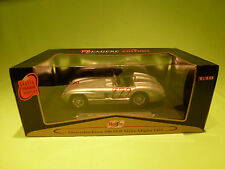 MAISTO  1:18 MERCEDES BENZ 300 SLR  - 1955 MILLE MIGLIA - 722- GOOD. IN BOX