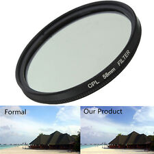 58mm Double Thread CPL Circular Polarizing Filter For Universal 58mm Camera Lens