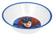 4pc Superman Warner Bros DC Comics Character Clark Soup Cereal Kid's Party Bowls