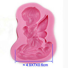 Angel Silicone Mold for Fimo Resin Polymer Clay Fondant Cake Chocolate Hot