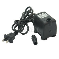 160GPH Electric Submersible Pump Aquarium Fish Tank Fountain Water Hydroponic