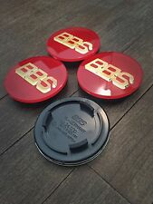 BBS RS RM RF Style Badges Centre Caps Emblems 70mm Black Red White Green Blue