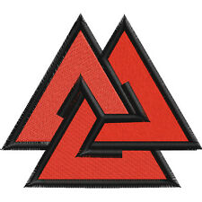 """Patch """"Valknut"""" is one of the main characters in the Norse mythology and religio"""