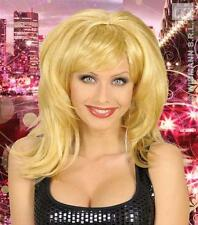 Long Blonde Wig Katy Perry 70'S Disco Austin Powers Fancy Dress