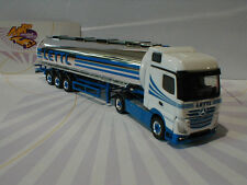 "Herpa 303460-Mercedes-Benz actros bigspace cromo Tank-remolcarse ""lettl"" 1:87"
