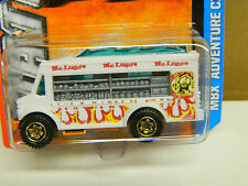 Matchbox 2013 FOOD VAN White with Flames MOMC Very Nice *