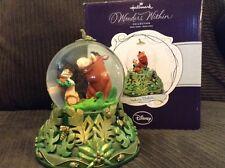 AS IS  Hallmark Disney Lion King Hakuna Matata Pumba TIMONE  SNOWGLOBE