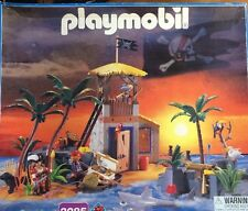 Playmobil 3285 3938 Pirate's Lagoon Prison Tower Hideaway Treasure Island Shark