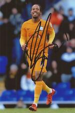 PRESTON: DANIEL JOHNSON SIGNED 6x4 ACTION PHOTO+COA