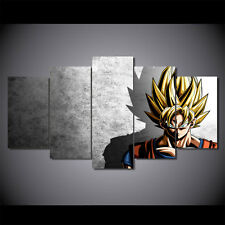 Anime manga Dragon Ball Vegeta Goku print poster canvas decoration 5 pieces