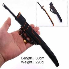 League of Legends LOL Yasuo Black Style Alloy Sword Weapon Model Toy Ornament