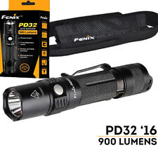Fenix PD32 900 Lumens 2016 Edt Tactical LED Flashlight, Uses two CR123A or 18650
