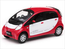 MITSUBISHI i MiEV WHITE/RED 1/43 DIECAST MODEL CAR BY VITESSE 29282