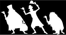 Haunted Mansion Hitchhiking Ghost Vinyl Decal Sticker