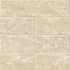"BEIGE BRECCIA Classic Subway Backsplash Tile Ceramic 4"" X 16"" KITCHEN BATHROOM"