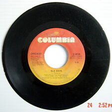 ONE 1975'S 45 R.P.M. RECORD, CHICAGO, HIDEAWAY + OLD DAYS