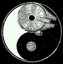 Star Wars Jin Yang TRANSFER PARA ropa clara u oscura.pegado plancha