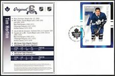 CANADA # 2788 - TIM HORTON HOCKEY CARD STAMP ON FIRST DAY COVER - ONLY 10 MADE