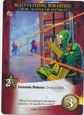 BOB, AGENT OF HYDRA Upper Deck Marvel Legendary DEADPOOL BULLETS FLYING, HIDING