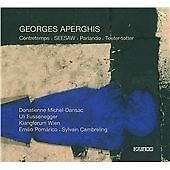 Georges Aperghis: Contretemps/SEESAW/Parlando/Teeter-totter CD NEW