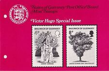 GUERNSEY PRESENTATION PACK MNH 1975 VICTOR HUGO 10% OFF 5+