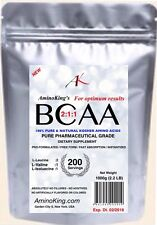 1000g (2.2 Lb) BCAA 2:1:1 PURE KOSHER PHARMACEUTICAL GRADE INSTANTIZED POWDER