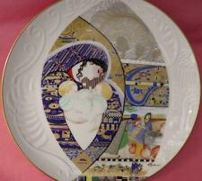 REBEKAH, JACOB AND ESAU PLATE EVE LICEA BIBLICAL MOTHERS EDWIN KNOWLES BOXED