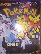 POKEMON GOLD & SILVER VERSIONS NINTENDO POWER OFFICIAL STRATEGY GUIDE