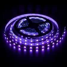 5M Non-waterproof SMD 5050 UV Purple Ultraviolet  LED Rope Lights 300 LED Tapes