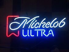 "New Vintage Michelob Ultra Logo Beer Lager Neon Light Sign 17""x14"""