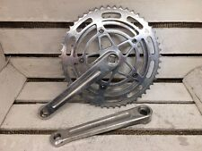 70's Vintage STRONGLIGHT 49D Model 93 Crankset 170mm 42/52 VGC