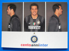 CARTOLINA UFFICIALE CALCIO INTER - 2007/08 - JULIO CESAR- PC 7812