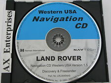 Discovery Freelander Navigation CD LRL0645NAS Map © 2003 Edition 2004 Western US