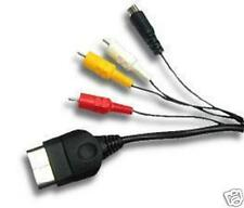 Xbox SVHS S Video + AV RCA  audio video Cable for X-Box X Box NEW! US Seller!