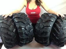 26x9-12 FRONT 26x11-12 REAR CST MAXXIS ANCLA ATV (4) TIRES SET 26-9-12 26-11-12