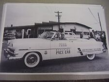 1953 FORD CONVERTIBLE PACE CAR   12 X 18 LARGE PICTURE / PHOTO