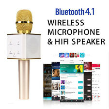 Q7 Wireless Bluetooth Handheled KTV Karaoke Microphone Mic Speaker For Phones