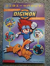 Digi-Know? The Official Book of Digimon Facts & Fun - Paperback - Good