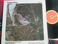 Woodland Birds BBC Records ‎– RED 103 WildLife Series UK Vinyl LP Album