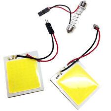 2x Auto COB 48-LED Panel Licht T10 Leselicht Festoon Weiß Innenlicht Lampe 12V