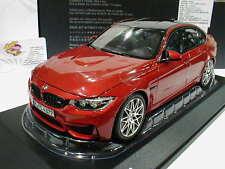 """NOREV Sondermodell # BMW M3 F80 Competition Baujahr 2016 """" sakhir orange """" 1:18"""