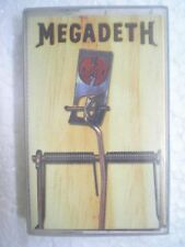 MEGADETH RISK RARE CASSETTE INDIA NEW INDIAN AUG 1999