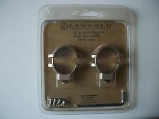 Leupold Dual Dovetail High Rings .900 #49918 Mattte Scope mount rings NIB