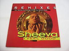 """SHEEVA - I FEEL GOOD REMIXES - 12"""" VINYL EXCELLENT CONDITION 1994"""