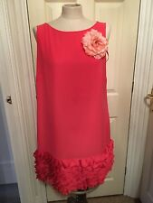 monsoon smock top dress wedding outfit races size 14