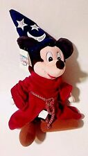 """Sorcerer Mickey Mouse Fantasia Plush Doll Toy 12"""" The Disney Store"""
