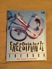Freestylin 'II Book Old School Bmx 80's Bmx Action Hutch Gt Haro Redline